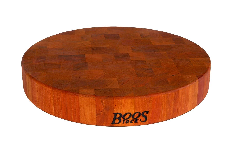 John Boos Cherry Round Cutting Board