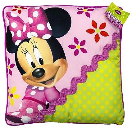 Amazon Disney Minnie Mouse Bowtique Garden Party Decorative Amazing Minnie Mouse Decorative Pillow
