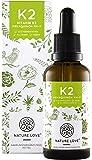 Vitamin K2 MK-7 Tropfen 200 µg (mcg) - 50ml. Premiumqualität: VitaMK7 von Gnosis. Aktionspreis. Pflanzliches Menaquinon mit >99% All Trans. Flüssig, hochdosiert, vegan, hergestellt in Deutschland