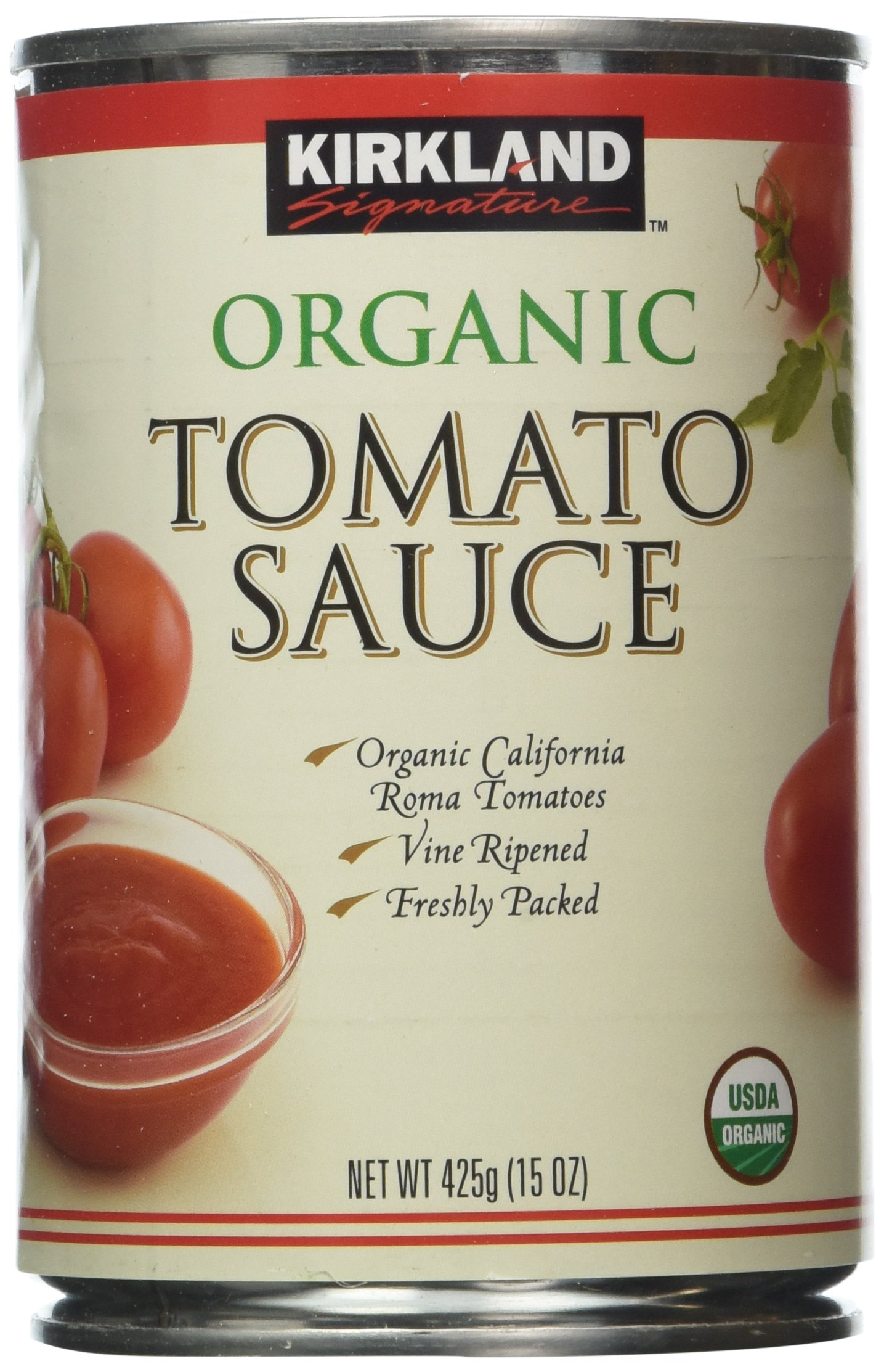 Amazon.com : Kirkland Signature Organic Diced Tomatoes, 7.25 Pound ...