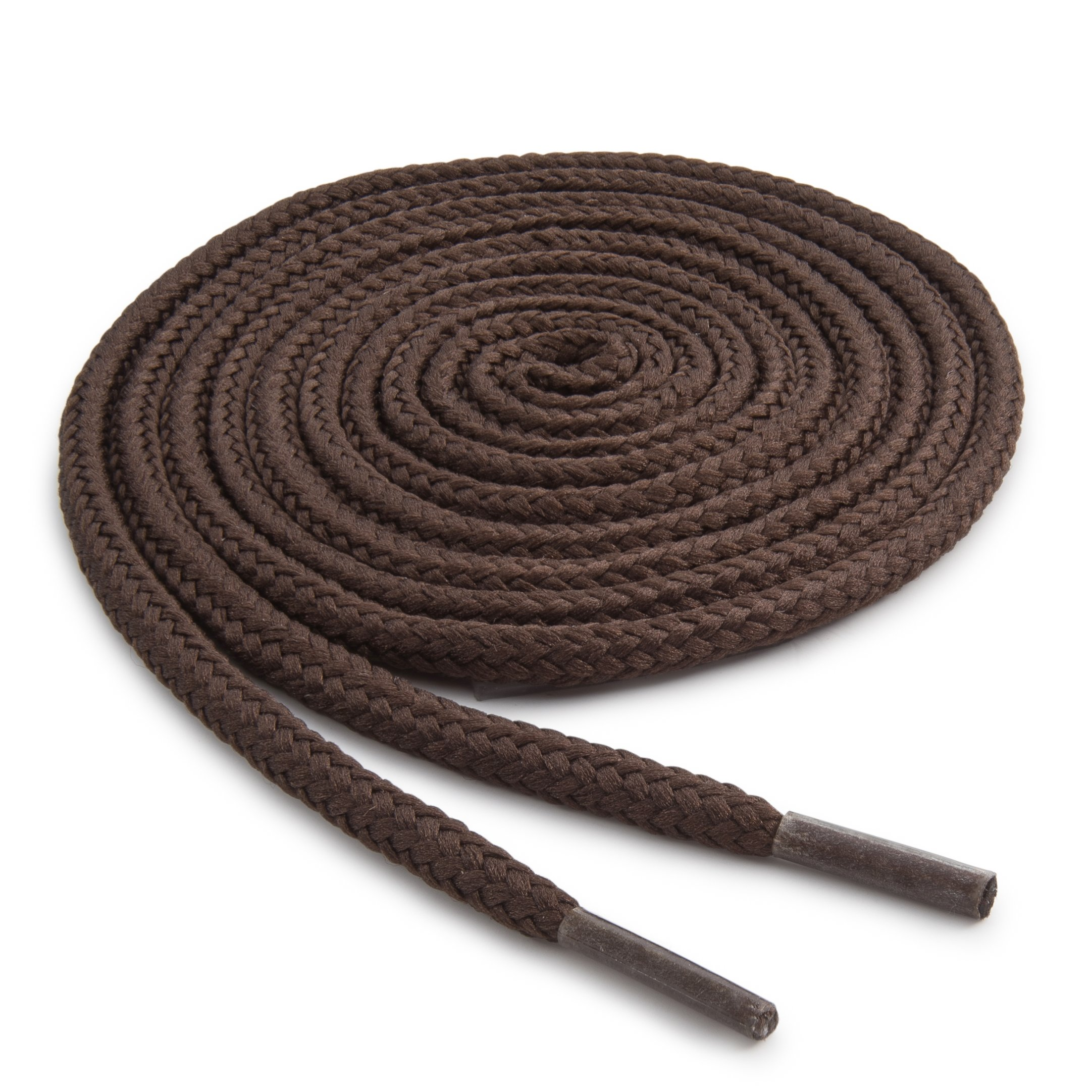 OrthoStep Round Athletic Brown 72 inch - Shoes and Sports Laces - Shoelaces 2 Pair Pack