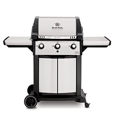 Broil King Signet 320 Cast-Aluminum 3 Burner Liquid Propane Gas Grill