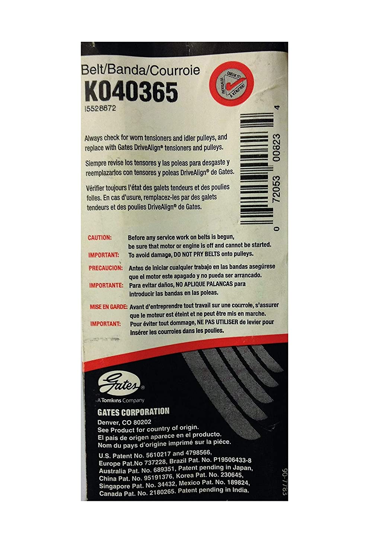 Estriadas Micro-V ® Horizon-gates 6pk2053