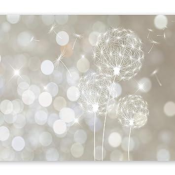 murando - Fototapete 350x245 cm - Vlies Tapete - Moderne Wanddeko - Design Tapete - Wandtapete - Wand Dekoration - Pusteblume