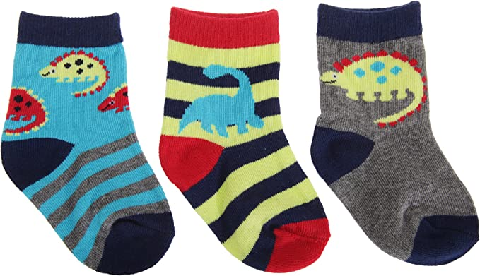 Multicolour One Size Kid Licensing Ankle Socks Pack of 3 Cars Unisex Children