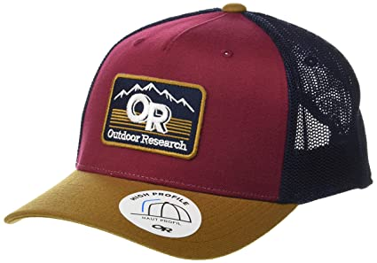 6849f9ca03 Outdoor Research Advocate Trucker Cap, Curry/Garnet, 1size: Amazon ...