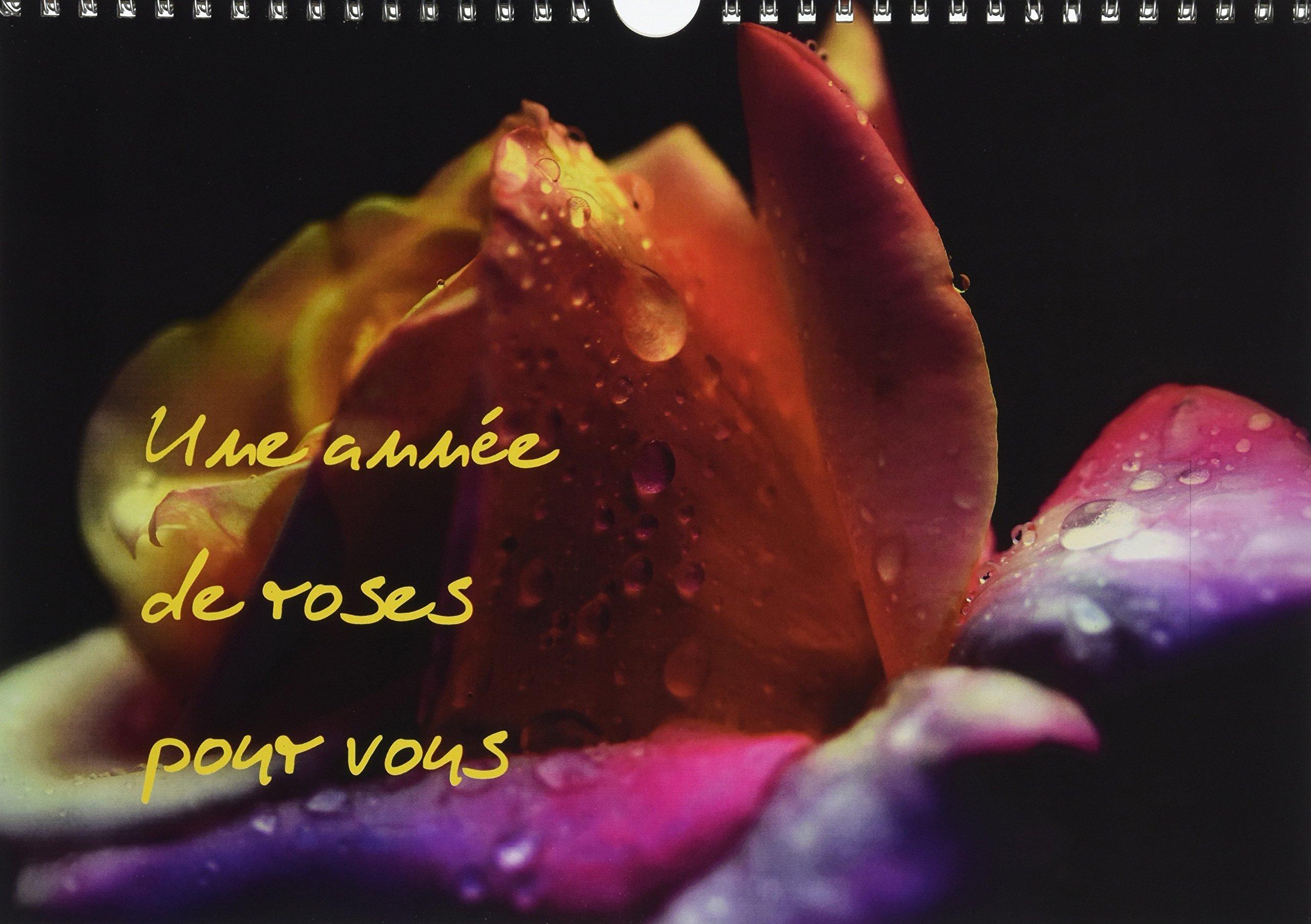 Download Une Annee de Roses Pour Vous 2017: Photos Inedites de Roses (Calvendo Nature) (French Edition) pdf