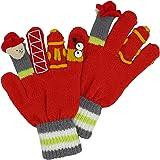 Kidorable Boys' Little Fireman Gloves