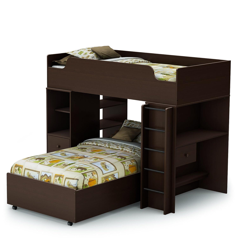 Amazon Com South Shore Logik Collection Twin Inch Loft Bed Kit