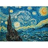 Clementoni Starry Night 500 Piece Vincent Van Gogh Jigsaw Puzzle