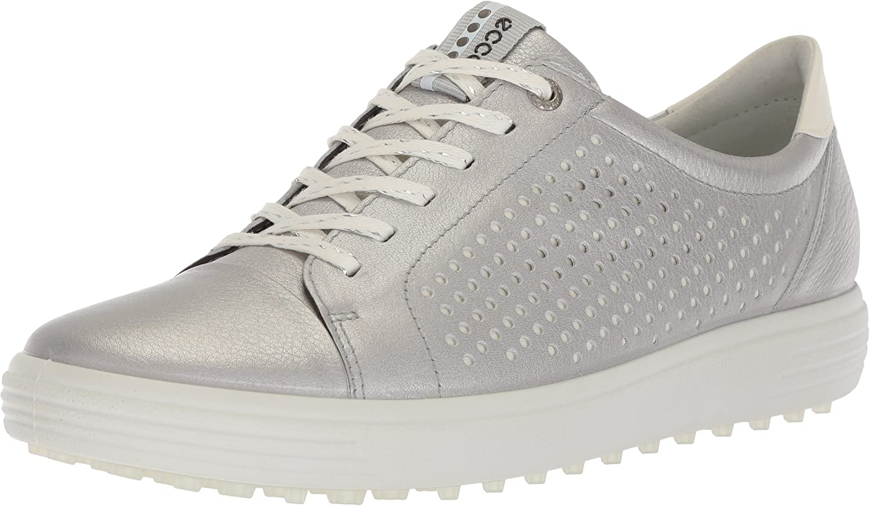 ECCO Womens Casual Hybrid Perf, Zapatos de Golf para Mujer