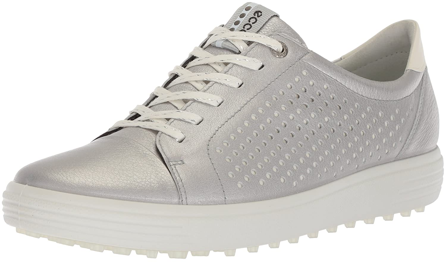 ECCO Women's Casual Hybrid Perforated Golf Shoe B074F8P65Y 42 M EU (11-11.5 US)|Alusilver