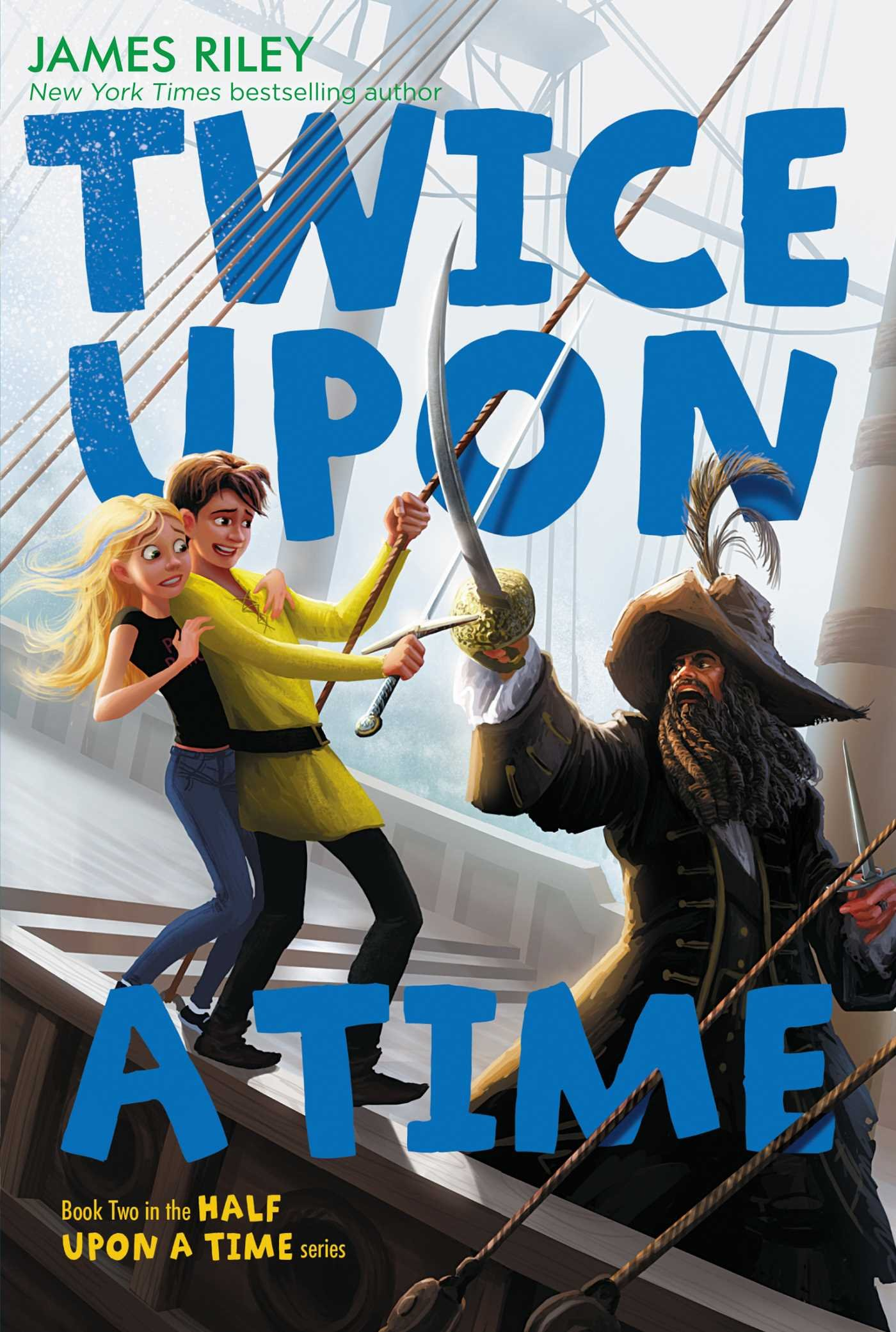 Read Online Twice Upon a Time (Half Upon a Time) ebook