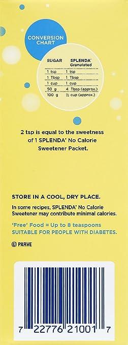 Amazon Splenda No Calorie Sweetener Granulated 19 Ounce 1