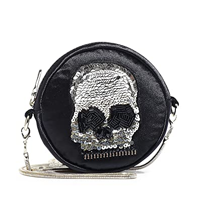 493b4603a Image Unavailable. Image not available for. Color: Steve Madden BMandy  Skull Micro Mini Crossbody ...