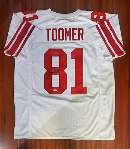 Amani Toomer Autographed Signed Jersey New York Giants PSA DNA at ...