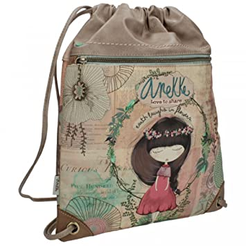 Sany Bags S.L. Anekke Nature Sack Bag Travel Tote, 39 cm, Multicolour