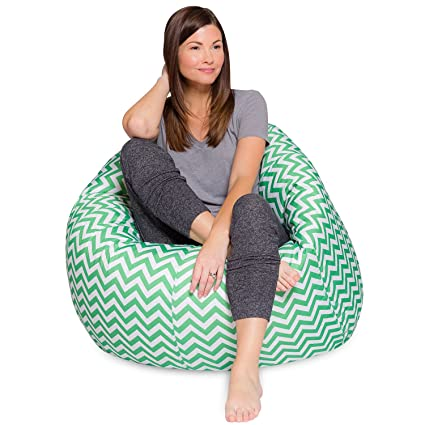 Phenomenal Big Comfy Bean Bag Chair Posh Large Beanbag Chairs With Removable Cover For Kids Teens And Adults Polyester Cloth Puff Sack Lounger Furniture For Evergreenethics Interior Chair Design Evergreenethicsorg