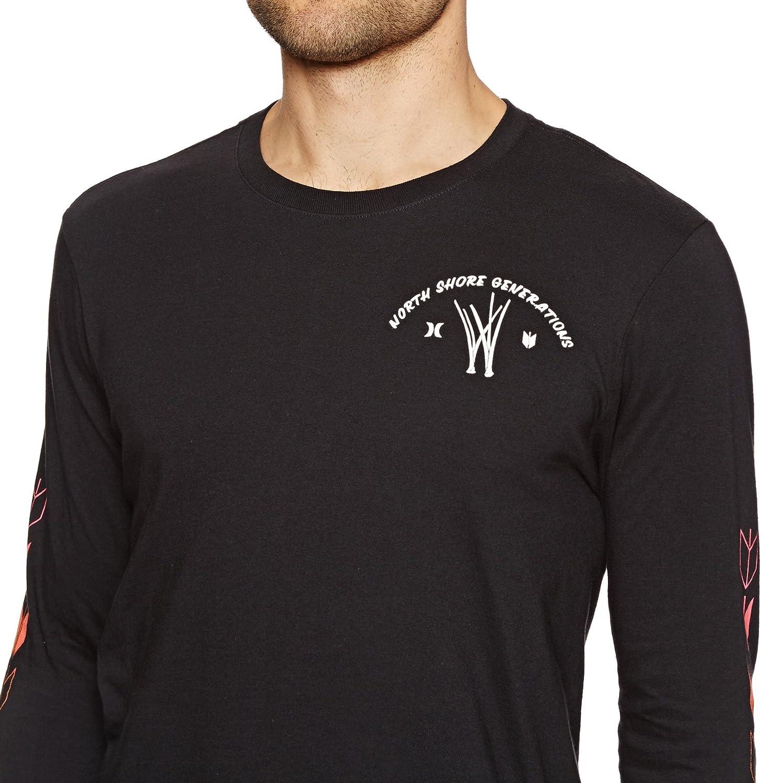 Hurley JJF Kahuliwae Long Sleeve T-Shirt in Black