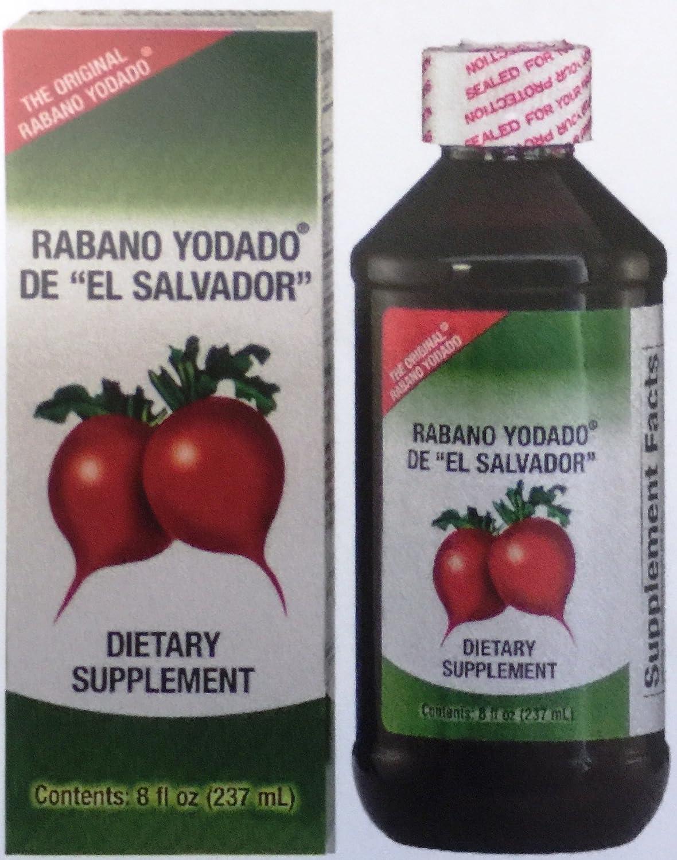 Amazon.com: Rabano Yodado De