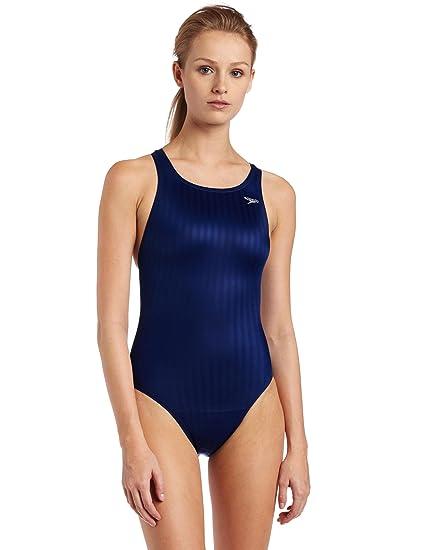 Speedo Female Swimsuit Race Lycra Blend Aquablade Record breaker