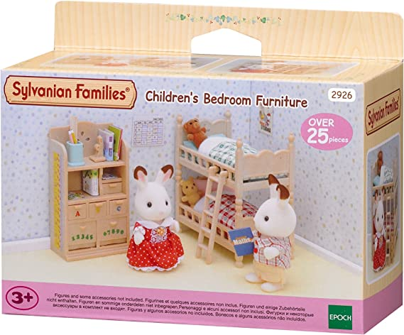 SYLVANIAN FAMILIES Figurine-Mob Chambre Enfants Sylvanian (Epoch para Imaginar 2926): Amazon.es: Juguetes y juegos