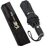 Regenschirm | Taschenschirm von Van Epp – stabil bei jedem Wetter dank 10-fach Verstrebung | wasserabweisende Teflon-Beschichtung | vollautomatische Auf-Zu-Automatik | robust & langlebig