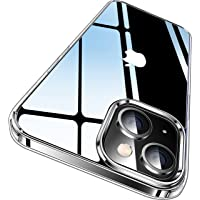 CASEKOO Crystal Clear Designed for iPhone 13 Case, [Not Yellowing] [Military Grade Drop Protection] Shockproof…