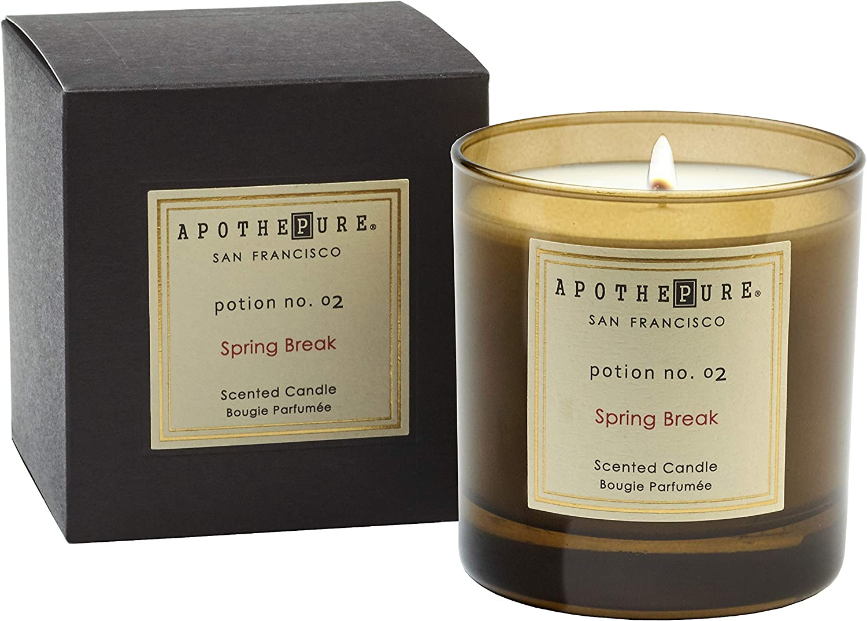 ApothePure Classic Candle, Spring Break, Potion No. 02, 8 Ounce