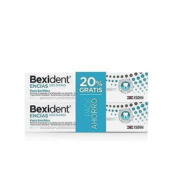 Isdin Bexident Encías Uso Diario Pack ahorro 20% EXTRA Pasta dentífrica 125ml+125ml: Amazon.es