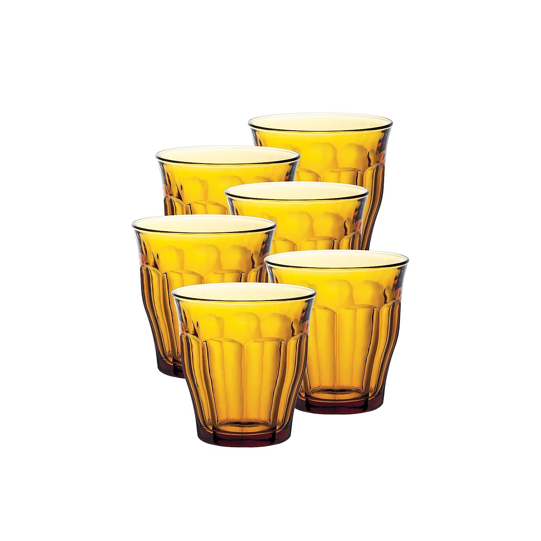 7.5 cm Duralex 1056AC04 Manhattan Clear Glass Tumblers Set of 4