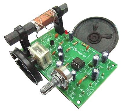 Amazon com : AM Radio Experiment Circuit board unassembed