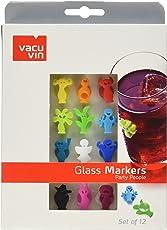 Vacu Vin 8714793188600 glass marker - marcadores de vidrio (Vidrio, Multicolor)