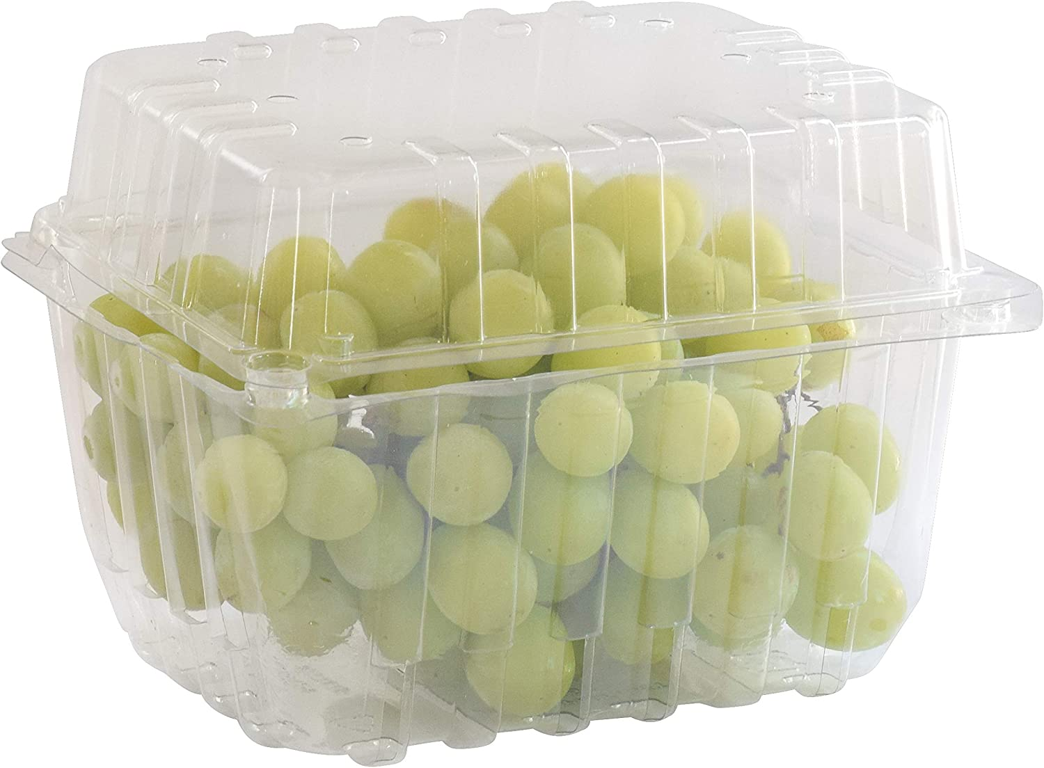 75 Pack - Quart Berry/Produce Basket - Vented Plastic Containers