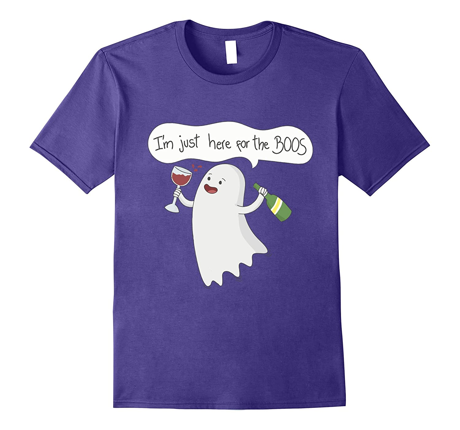 I'm Just Here For The Boos Shirt - Easy Halloween Costume-Art