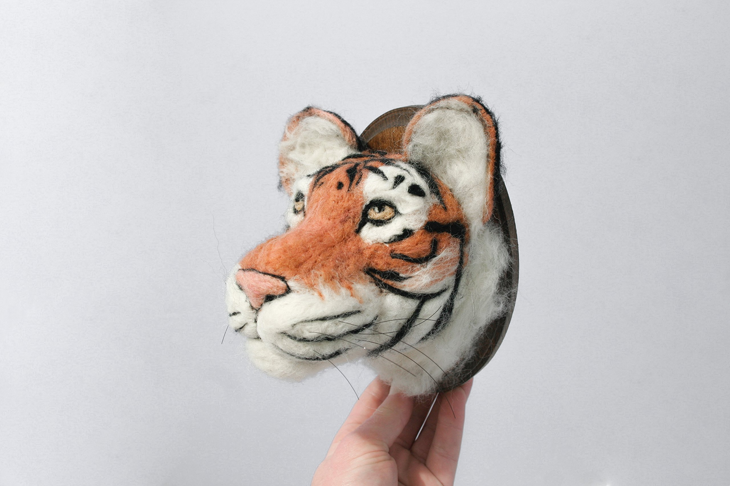 Tiger Faux Taxidermy