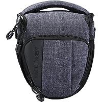Kamera Tasche K&F Concept® Kameratasche SLR-Tasche SLR-Schultertasche für Canon Nikon DSLR- und Systemkameras mit Schultergurt Regenschutzhülle Klein