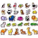 Kühlschrankmagnete, magnetspielzeug Kinder Zootiere figuren 29 Stück - Magnete für Kinder Tiere - Tiere spielzeug für Jungen und Mädchen - Kleinkind spielzeug 2 jahre - Spielzeug 2 jährige
