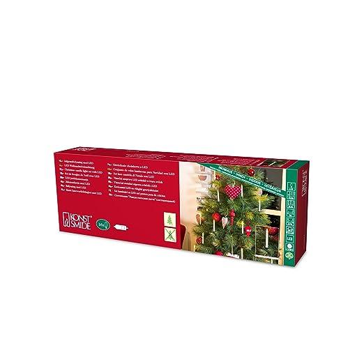 Konstsmide Weihnachtsbeleuchtung.Konstsmide Indoor 16 Slim Line Led Christmas Tree Candles Parallel