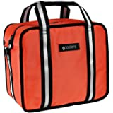 GCoolers 24-Can Soft Ice Cooler Insulated Bag for Camping, Tailgating. Made with Ballistic Nylon, 1680D Polyster, and TPU liner