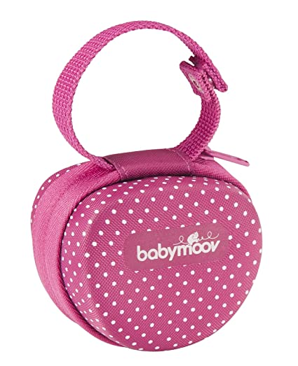 Babymoov Lovely A011201 - Portachupetes, para 0 m+, color rosa