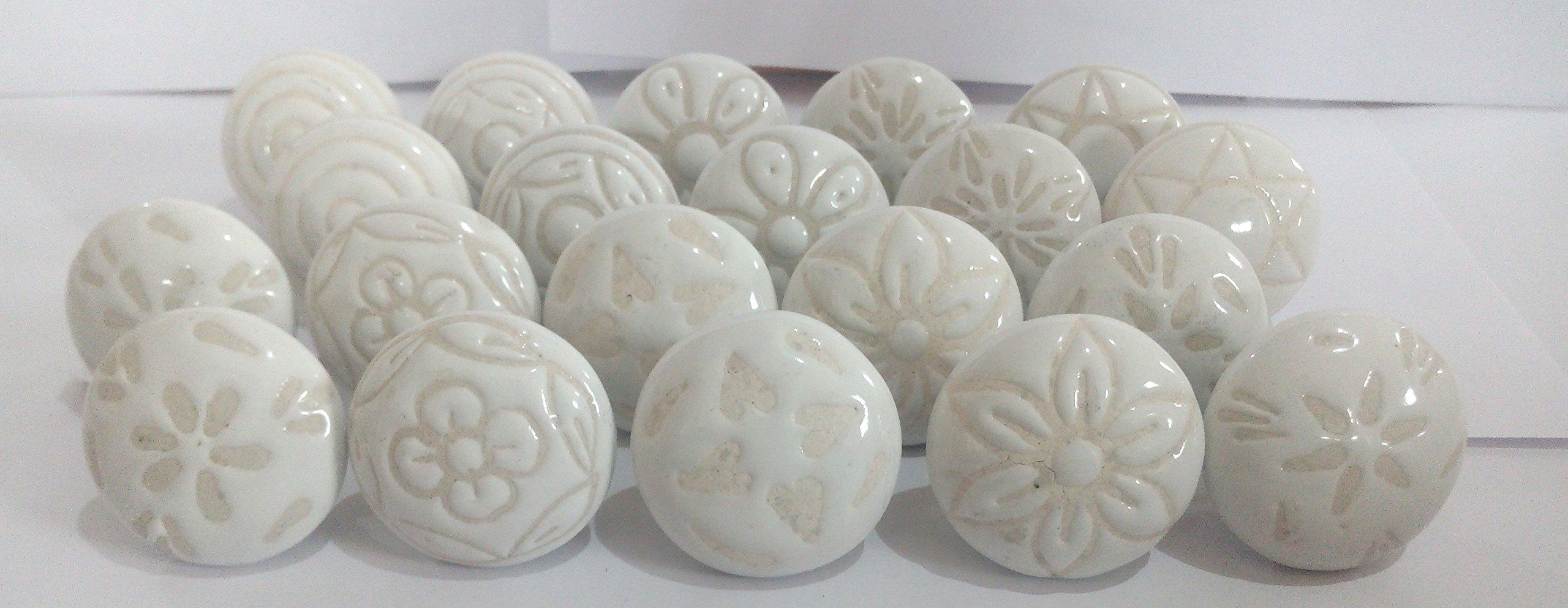 20 Tiradores de Ceramica / Porcelana (7371XYV5)