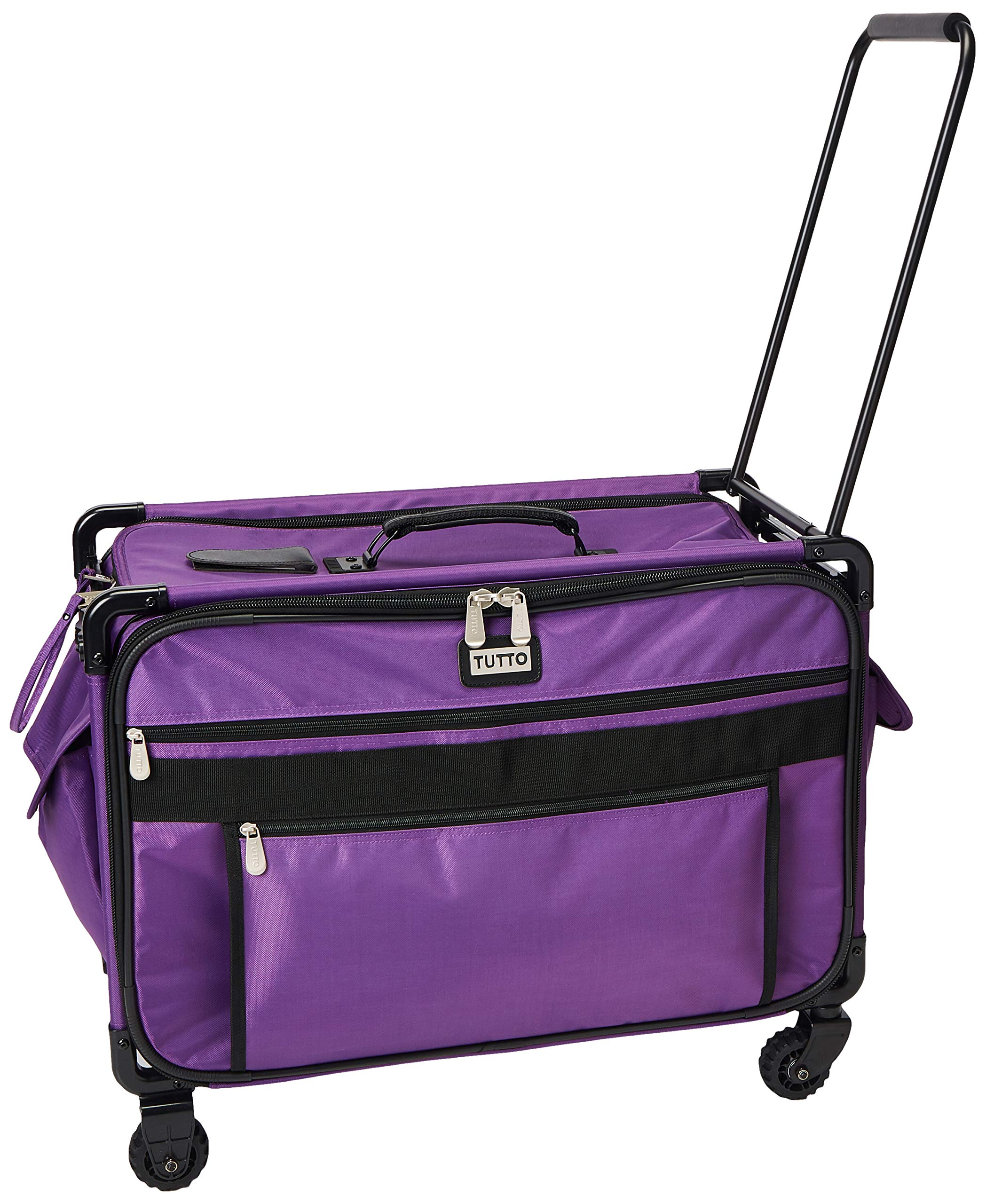 Mascot Metropolitan Tutto Machine Case On Wheels Extra Large 24in Purple, X-Large/24 by Mascot Metropolitan