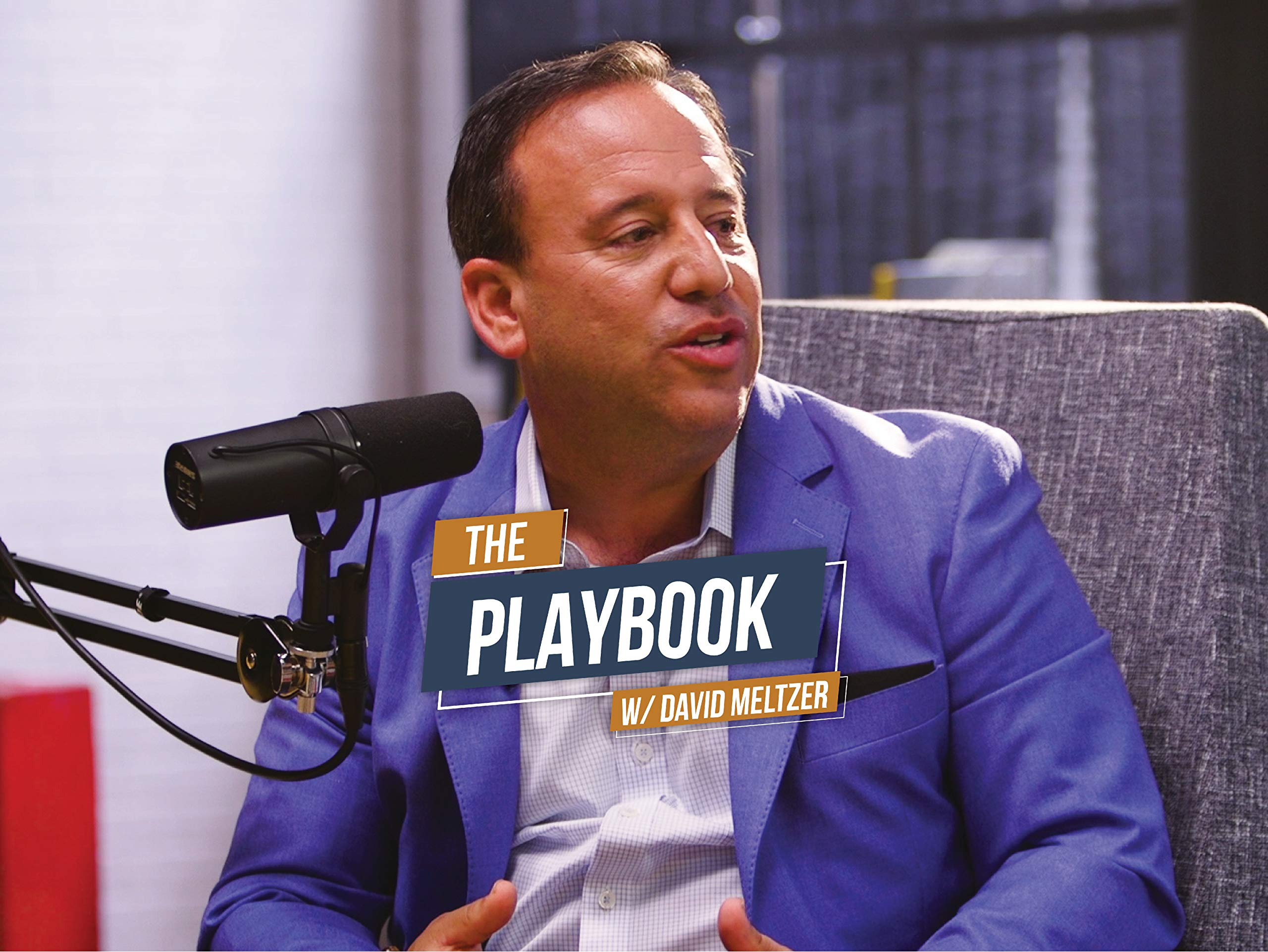 The Playbook with David Meltzer on Amazon Prime Video UK