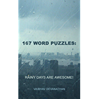167 Word Puzzles: Rainy Days Are Awesome! (English Edition)
