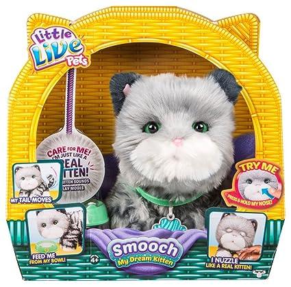 c8d7af5a9af2 Amazon.com: Moose Toys Little Live Pets 086-08-1625 Smooch, My Dream  Kitten: Toys & Games