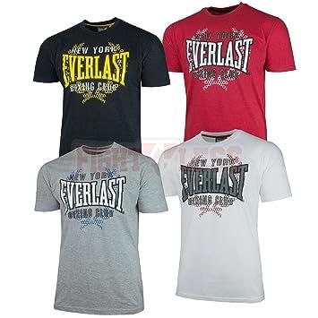 a651c9cd0e7047 Everlast T-Shirt NY Boxing Club - Kampfsport   Boxen Shirt S M L XL schwarz  red