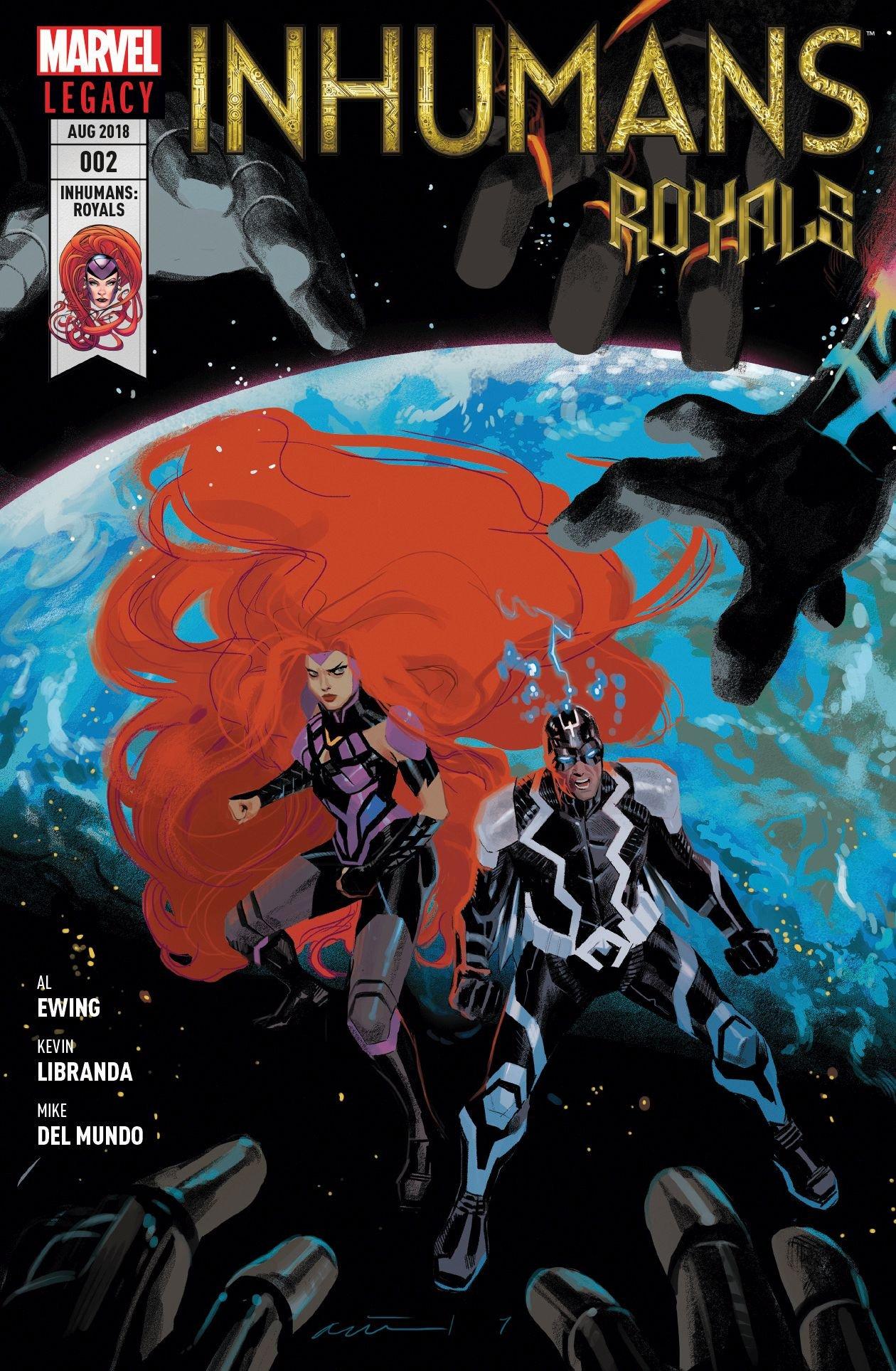 Inhumans Royals: Bd. 2: Das Jüngste Gericht