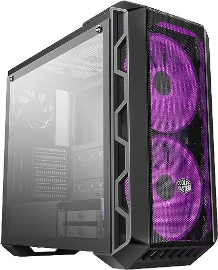 Cooler Master MasterCase H500 - Caja PC RGB con Dos Ventiladores ...