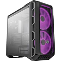 Cooler Master MasterCase H500 - RGB PC behuizing met Dual 200mm Fans voor high- volume airflow, mesh en transparante…